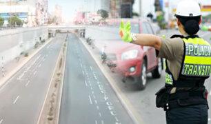 Vía Expresa Grau: autos y taxis circularán por carril izquierdo hasta el 27 de junio