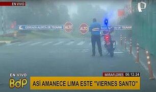 Miraflores: así se vive segundo día de inmovilización obligatoria