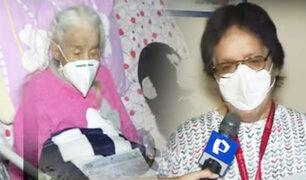 Anciana de 101 años perdió su DNI y Reniec pide su presencia para renovárselo