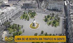 Lima sin gente: vea las calles históricas de la capital durante la inmovilización obligatoria
