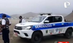 Cañete: bañistas fueron sorprendidos en playa de Cerro Azul