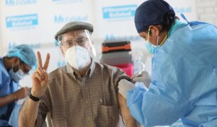 Alrededor de 8 mil adultos mayores recibirán la segunda dosis de vacuna durante Semana Santa
