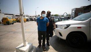 SJM: exsoldado que tiene 20 denuncias asesinó a balazos a mototaxista