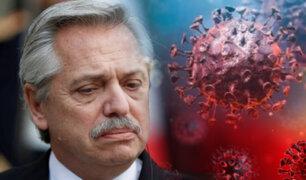 Argentina: presidente Fernández da positivo a COVID-19 dos meses después de haberse vacunado