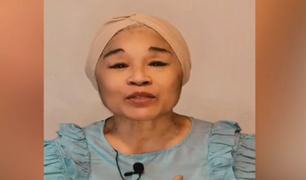 ¡Buenas noticias! Cocinera Angélica Chinén fue dada de alta tras superar la Covid-19