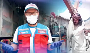 El Cristo más extremo del Perú y su nueva vida en pandemia