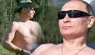 Vladimir Putin es elegido el hombre más sexy de Rusia por sus compatriotas