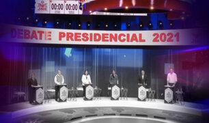 Elecciones 2021: los picotazos entre los candidatos presidenciales durante los debates