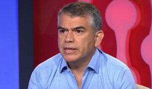 Julio Guzmán dejará la presidencia del Partido Morado y viajará por temas laborales