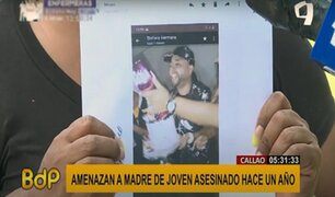 Callao: madre pide justicia para hijo asesinado y denuncia que recibe amenazas contra su vida