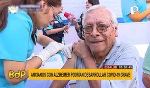 EsSalud advierte: ancianos con Alzheimer podrían desarrollar COVID-19 grave