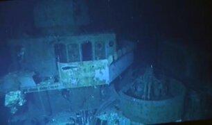 Filipinas: hallan buque estadounidense de la II Guerra Mundial