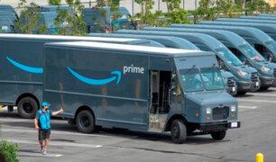 Amazon admite que sus conductores orinan en botellas debido al tráfico