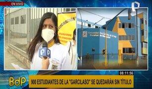 Más de 14 mil alumnos exigen a la Universidad Inca Garcilaso inscribir sus títulos