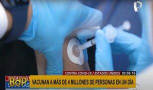 EEUU establece nuevo récord: vacunan a más de 4 millones en un día