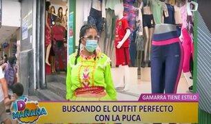 """En busca del 'outfit' perfecto: D´Mañana acompañó a la """"Puca"""" en Gamarra"""