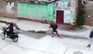 Huancayo: cámaras captan asalto a plena luz del día
