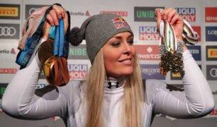 Lindsay Vonn: exesquiadora da lección a sus 'haters'