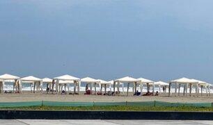 Semana Santa 2021: bañistas acudieron a playa Barlovento pese a restricciones
