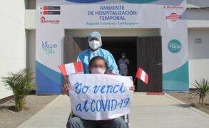Perú suma 1'509,493 pacientes recuperados de Covid-19