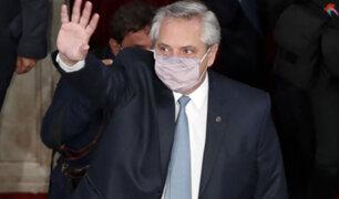 Presidente de Argentina no se infectó de ninguna nueva variante de covid-19