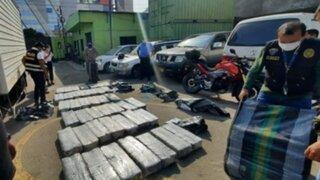 SMP: incautan más de 111 kilos de cocaína que era trasladada en una camioneta