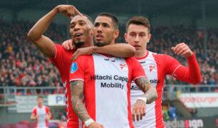 Sergio Peña brilla en Holanda: fue incluido en el once ideal de la fecha en la Eredivisie