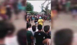 Decenas de personas participaron de fiesta patronal en San Martín