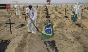 Brasil registró su máximo récord de más de 4 mil muertes diarias