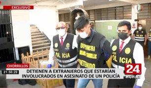 Chorrillos: detienen a sujetos que habrían asesinado a policía en exteriores de car wash