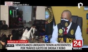 Jefe de Criminalidad Extranjera detalla liberación de detenidos en Bunker de Chosica