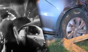 Accidente de tránsito en La Molina deja cinco personas heridas