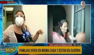 SJM: dueños de vivienda denuncian agresiones físicas y verbales de inquilinos violentos