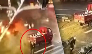 China: hombre se salva de morir tres veces en la misma noche