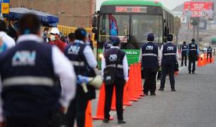 Paro de transportistas: Ponen a disposición servicios temporales por suspensión de transporte