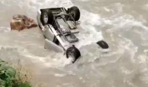 Huánuco: muere ahogado en río cuando intentaba estacionar