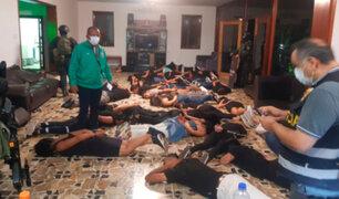 Abren investigación a fiscales que liberaron a 66 detenidos en búnker en Chaclacayo