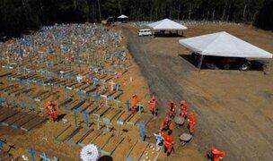 Brasil confirma primer caso de variante sudafricana en medio de récord de muertes