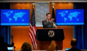 EEUU se compromete a trabajar con quienes salgan elegidos en comicios de Perú y Ecuador