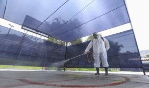 Desinfectan espacios municipales que serán utilizados como centros de votación