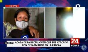Menor que fue atacado con un desarmador por taxista extranjero falleció este miércoles