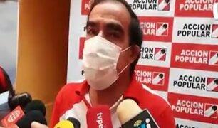 Elecciones 2021: Lescano elevará queja ante el JNE contra Rafael Santos