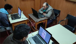 Juliaca: familiares de internos del penal realizan visitas virtuales
