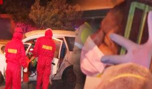 Mujer se queda dormida y choca su auto en La Molina
