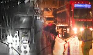 Hombre muere arrollado por camión en Puente Piedra