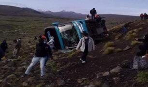 Tragedia en Ayacucho: al menos 9 muertos y 20 heridos tras despiste y volcadura de bus