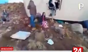 Ayacucho: despiste de bus interprovincial deja al menos nueve muertos