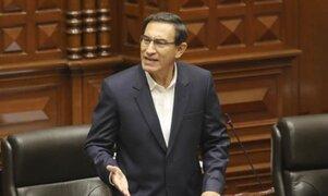 Abogado de Vizcarra señala que denunciará a Mirtha Vásquez por convocar a un Pleno este sábado