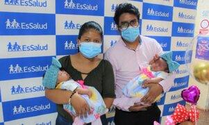 Salvan vida de gemelas prematuras que estuvieron en UCI más de un mes