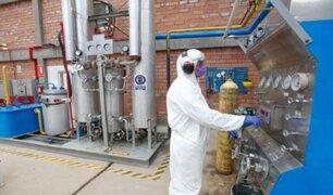 Perú cuenta con más de 160 plantas de oxígeno medicinal